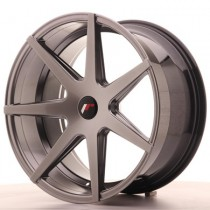 Japan Racing JR20 20x10 Blank hyper black