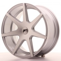 Japan Racing JR20 20x8,5 Blank silver machined