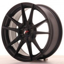 Japan Racing JR21 17x9 Blank matt black