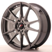 Japan Racing JR21 17x8 hyper black