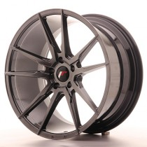 Japan Racing JR21 20x11 Blank hyper black