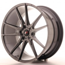 Japan Racing JR21 22x9 Blank hyper black