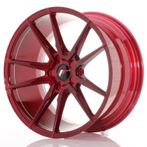 Japan Racing JR21 17x9 Blank platinum red