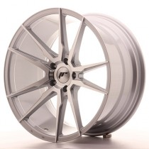 Japan Racing JR21 20x11 silver machined