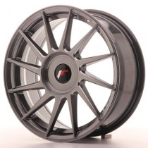 Japan Racing JR22 17x8 Blank  Hyperblack