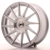 Japan Racing JR22 17x7 Blank Silver mach