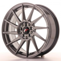 Japan Racing JR22 17x7 Hyperblack