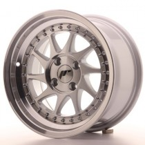 Japan Racing JR26 16x8 machined silver