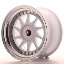 Japan Racing JR26 17x9 blank white