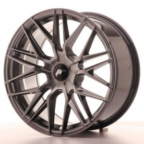 Japan Racing JR28 17x8 blank hyper black