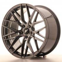 Japan Racing JR28 22x9 blank hyper black