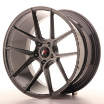 Japan Racing JR30 20x11 blank hyper black
