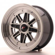 Japan Racing JR31 15x7,5 blank black machined