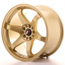 Japan Racing JR3 17x9 gold