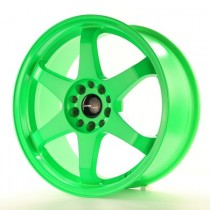 Japan Racing JR3 18x8 neon green