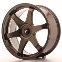 Japan Racing JR3 18x8 blank bronze