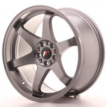Japan Racing JR3 17x8 gun metal