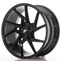 Japan Racing JR33 20x9 blank hyper black