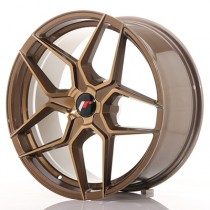 Japan Racing JR34 20x10 blank bronze