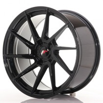Japan Racing JR36 20x9 blank glossy black
