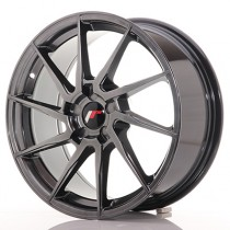 Japan Racing JR36 18x8 blank hyper black