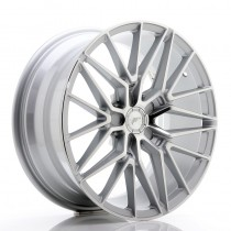 Japan Racing JR38 18x8 blank silver machined face