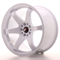 Japan Racing JR3 18x9 blank white