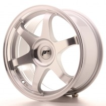 Japan Racing JR3 17x8 blank silver machined