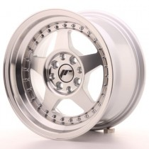 Japan Racing JR6 16x8 machined silver