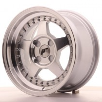 Japan Racing JR6 17x9 Blank machined silver