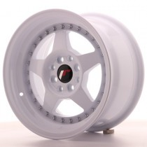Japan Racing JR6 17x9 blank white