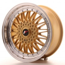 Japan Racing JR9 18x9 blank gold