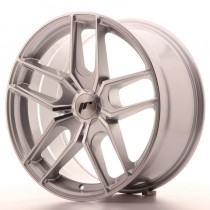 Japan Racing JR25 18x8.5 Machined silver