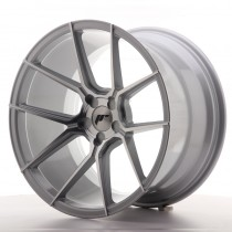 Japan Racing JR30 20x10 blank silver machined