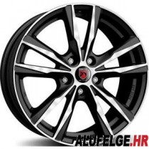 Reds K2 black polished 16x6,5 5x114,3 ET40 72,3 x8