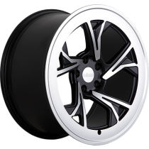 RADI8 R8C5 18x8,5 Black Polished