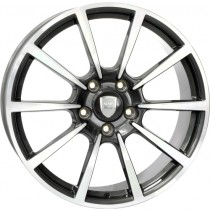 WSP Italy Legend 20x8,5 5x130 ET57 71,6 anthracite polished