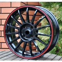 Racing Line RLM31 black with red line 15x6
