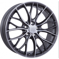 WSP Italy Main 19x8 5x120 ET52 72,6 anthracite polished