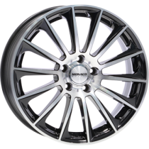 Monaco MC9 19x9,5 black polished