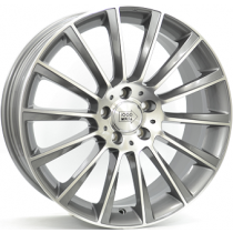 Mile Miglia anthracite polished 18x8