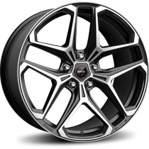 Momo RF-04 21x10 matt black polished