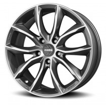 Momo ScreamJet Evo 17x8 Matt Anthracite