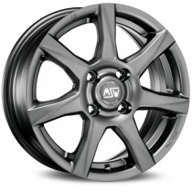 MSW 77 matt dark grey 15x6 5x112 ET45 73,1 x8