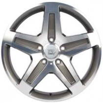 WSP Italy Nagano 19x9,5 5x130 ET50 84,1 anthracite polished