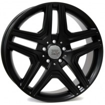 WSP Italy AMG Nero 21x10 5x112 ET56 66,6 black lip polished