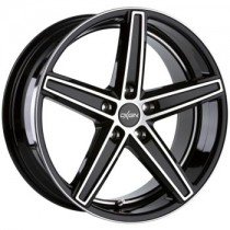 Oxigin 18 Concave Black Full Polish 22x10