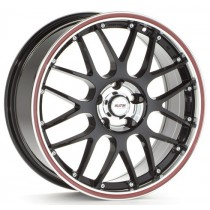 Platin PL61 17x8 black/red