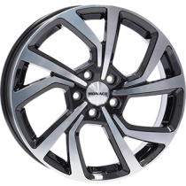 Monaco Pace 18x7,5 black polished