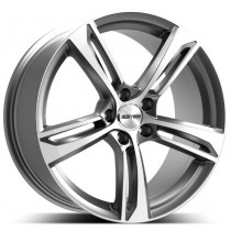 GMP Paky Anthracite Diamond 20x8.5 5x112